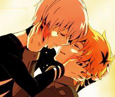 Kaneki and Hide // TG
