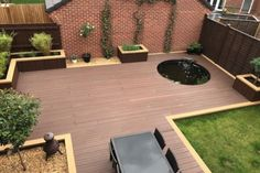 Our Hollow Woodgrain Effect Composite Decking Boards combine a lightweight build with a characterful finish. This makes them ideal for homeowners looking to create a space for family gatherings, as well as bars looking to create a spot where customers can Team Online, Timber Deck, Cold Frame, Composite Decking, Wood Grain, Minimalism, Patio, This Or That Questions, Building