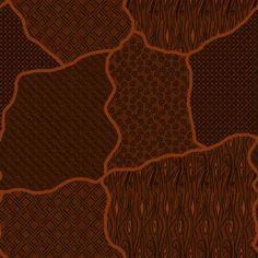 Batik ornamen in weave
