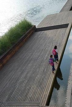 Minghu Wetland Park by Turenscape 17 « Landscape Architecture Works | Landezine: