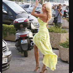 Peace out St Tropez✌️ #lategram #LeonardoDicaprioFoundation  Dress by…