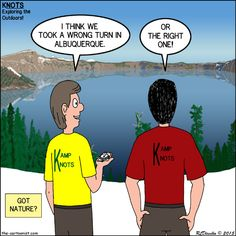 www.the-cartoonist.com presents KNOTS or Not Scout Cartoons at Kamp Knots