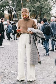 Extra wide pant