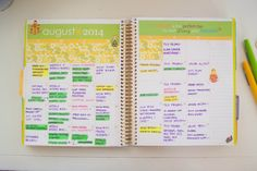 Our Holly Days: A Look Inside My Planner #eclifeplanner