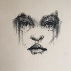 #art  #contecrayon #contemporaryart  #darkart  #drawing  #figuredrawing  #instaart by patrickspirit