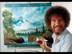 Resim Sevinci -The Joy of Painting with Bob Ross #24 - YouTube