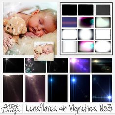 <p> Lensflares & Vignettes No3 by NBK-Design</p>
