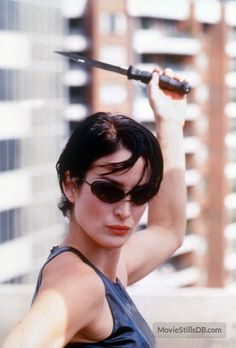 A gallery of The Matrix publicity stills and other photos. Featuring Keanu Reeves, Carrie-Anne Moss, Laurence Fishburne, Hugo Weaving and others. Canadian Actresses, Actors & Actresses, Keanu Matrix, Trinity Matrix, The Matrix Movie, Film Science Fiction, Carrie Anne Moss, Action Film, Action Movies