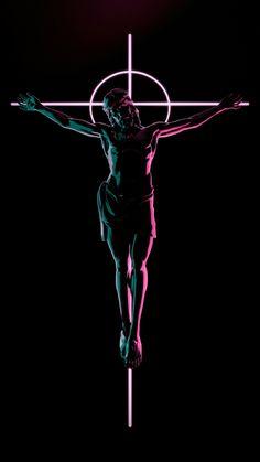 Good wallpaper dispite the fact that jesus wasn't white Cross Wallpaper, Jesus Wallpaper, Crucifixion Of Jesus, Jesus Christ, Catholic Art, Religious Art, Canvas Wall Art, Wall Art Prints, Vaporwave Wallpaper