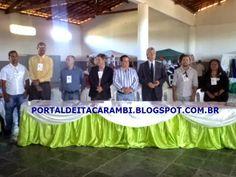 PORTAL DE ITACARAMBI: O primeiro dia do Seminário de Turismo Sustentável...
