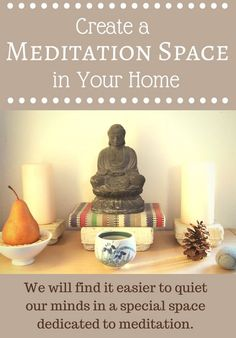 meditation/ reading / yoga spaces at home