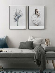 Grey toned space   Via theposterclub.com