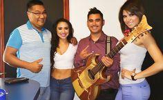 En cabina La Plebada Network con nuestro invitado Luis Bruno, El Compa Mike, La Baby y La Muñeca!