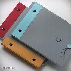 Slate Grey Monogram Notebook {#298}   Inkello