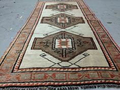 """Cr 1920-1940s Antique Kurdish Tent Woven Tribal Pile Rug.f from Barak Dynasty from Toros Mountain. It omes within great pile condition for a collector or enthusiast. It measures 3'2""""x6'10"""". It is an awesome finding and a collector item. 