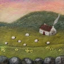 Image result for needle felted landscape