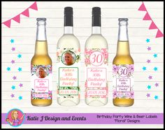 Personalised Rum 50th Birthday Banner x2 Party Decoration Ladies Mens ANY NAME
