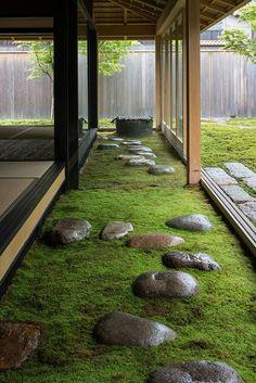 Japanese Style House, Japanese Garden Design, Japanese Garden Backyard, Japanese Gardens, Japanese Garden Landscape, Small Japanese Garden, Zen Garden Design, Landscape Architecture, Landscape Design
