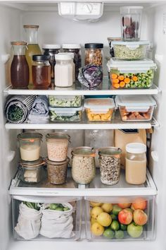 Cheap Home Decor .Cheap Home Decor Refrigerator Organization, Pantry Organization, Organized Fridge, Fridge Shelves, Refrigerator Storage, Organizing Ideas, Food Storage, Storage Containers, Kitchen Dining