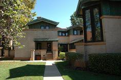 Frank Lloyd Wright's Dana-Thomas House: Springfield, IL