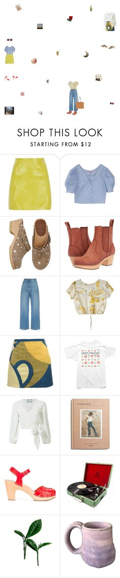 """standing amongst ticket stubs and written notes and photographs"" by monastic ❤ liked on Polyvore featuring River Island, Hanna Andersson, Swedish Hasbeens, Rachel Comey, Samantha Pleet, Marc Jacobs, Alexis, Madewell and Le Specs"