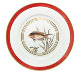 10.5 in Dinner Plate Fish N°4 | Gracious Style