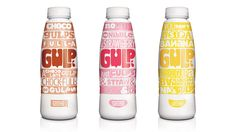 W+K London Creates—Gulp—A New Milkshake Brand