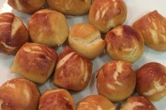 Soft Pretzel Bites. This homemade soft pretzels bites recipe makes soft pretzel bites that are easy to make and so delicious, no one will believe they're homemade!