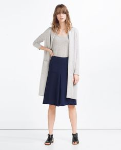 Image 1 of MIDI SKIRT WITH POCKETS from Zara