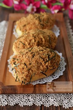 Bake for Happy Kids: Like BreadTalk / BreadTop Pork Floss Bread Buns - ...