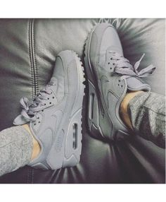 on sale cd168 fc15c shoes nike grey sneakers nike sneakers all grey everything air max nike  shoes matte nike air nike air max 90 grey nike air max grey shoes grey  sneakers low ...
