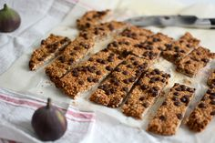 Food: Eat Seasonal – Müsliriegel mit Feigen
