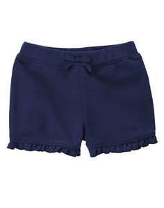 French Terry Ruffle Shorts at Gymboree Collection Name: Hop 'n' Roll (2015)