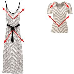 converging and diverging lines by imogenl on Polyvore