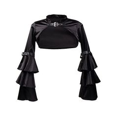Killreal Women's Medieval Style Victorian Gothic Steampunk Long Sleeve... ($19) ❤ liked on Polyvore featuring outerwear