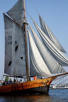 I love the thought of going sailing now time to go about actually doing it.