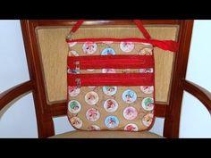 Bolsa - Bolsa das moças - Bolsa em tecido - Maria Adna Ateliê - Bolsas em tecido com zíper - YouTube