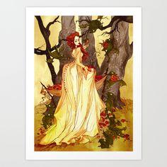 Art Prints by Abigail Larson | Society6
