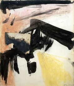 Franz Kline - Abstraction, 1955 | Flickr - Photo Sharing!