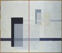 """K VII"" by László Moholy-Nagy (Hungarian), Tate Modern, London - Bauhaus School Modern Art, Contemporary Art, Bauhaus Art, Bauhaus Painting, Bauhaus Design, Laszlo Moholy Nagy, Josef Albers, Anni Albers, Illustration Art"