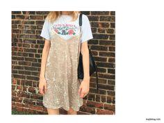 ¡Emma Roberts y Rihanna obsesionadas con el Slip Dress! Te mostramos las 20 variantes para llevarlo a las calles. #SupportStreetStyle | Maple Magazine