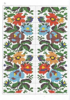 """Photo from album """"Українська вишивка on Yandex. Cross Stitch Designs, Cross Stitch Patterns, Ribbon Embroidery, Embroidery Designs, Knitting Charts, Textiles, Kids Rugs, Crafts, Yandex Disk"""
