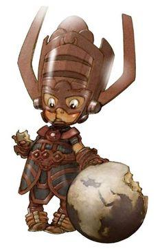 Pequenos Heróis de Alberto Varanda - Galactus