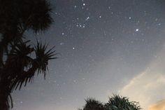 Stars on The Sky Peh Pulo Beach, Blitar, East Java, Indonesia