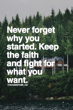 Fight for what you want...in God's will!
