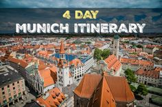 Have an amazing 4 days with this Munich Itinerary of the very best sights and activities along the way. Things to do in Munich, Munich City Guide