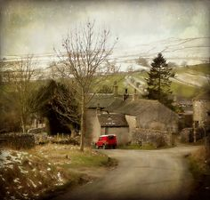 Malham in the Yorkshire Dales! This is one of our stops (an extra day here too!) for the Pennine Way next Spring! Yay!