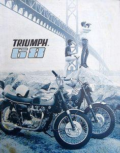 1968 Triumph Ad