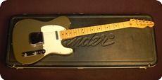 Fender Telecaster 1981 Inca Silver
