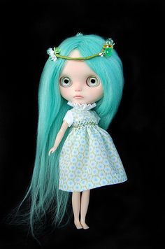 WEEKEND DISCOUNT Custom Blythe doll Absinthe by FaustoyGretchen on Etsy